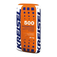 Машинная и ручная штукатурка KALKZEMENT-MASCHINENPUTZ 500 Kreisel
